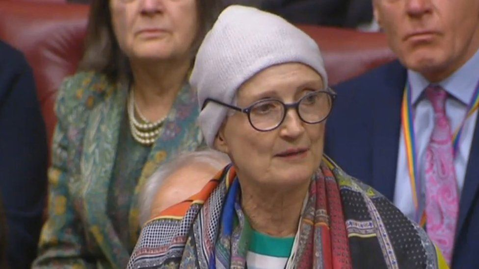 Tessa Jowell in the House of Lords