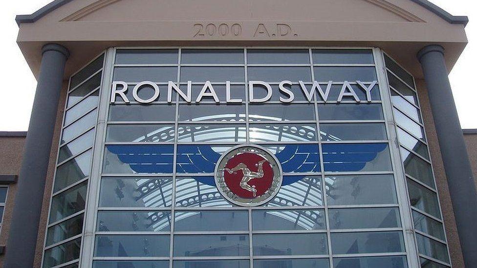 Ronaldsway Airport, Isle of Man