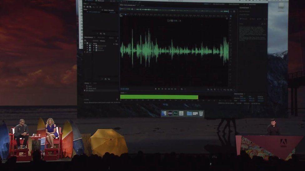 Adobe Voco demo