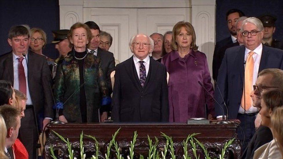 Michael D Higgins inauguration