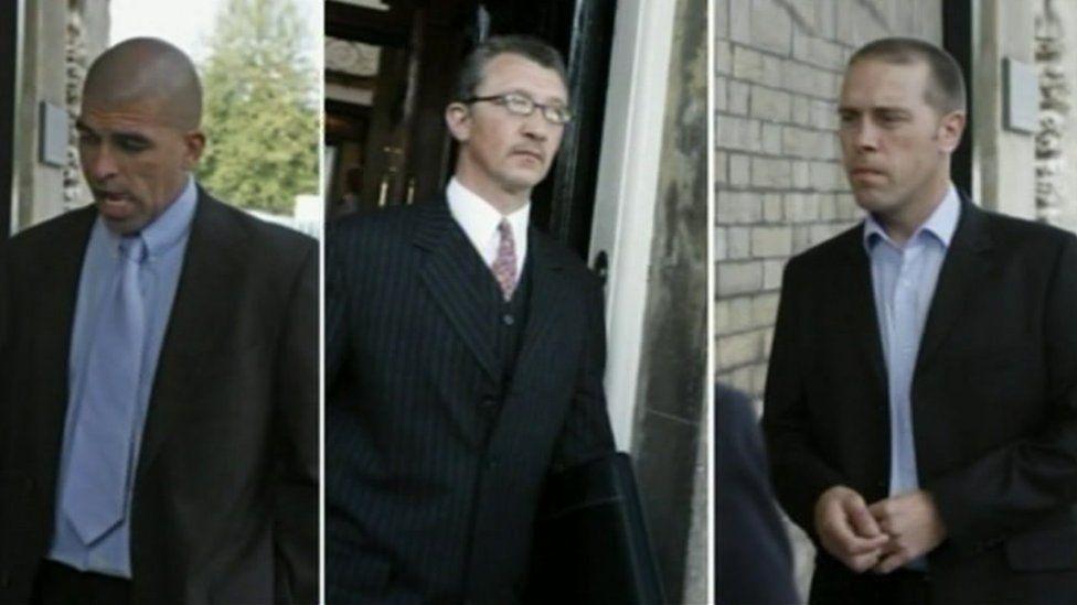 Paul Blake, Russell Price a John Edwards