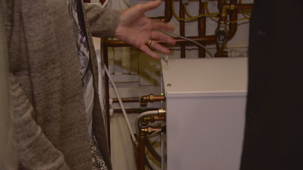 "Joan says the box in her airing cupboard ""makes a lovely difference"""