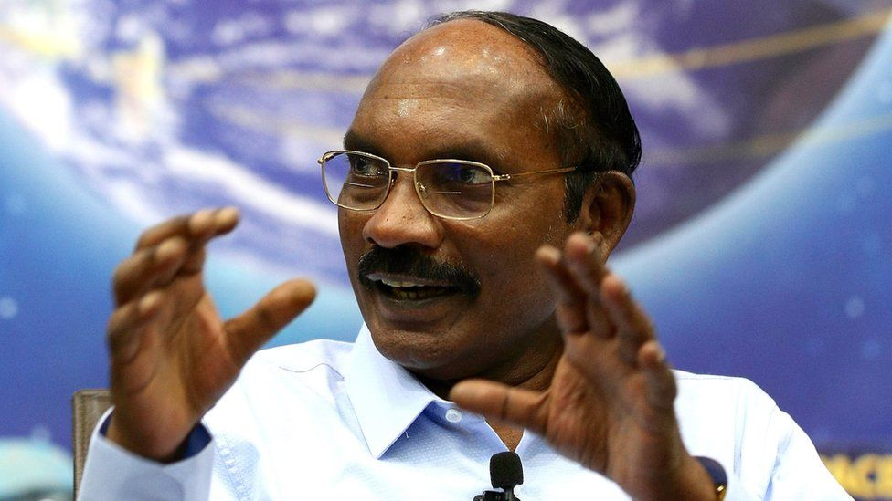 K Sivan, chairman of the Indian Space Research Organisation, speaks during a media event in Bangalore, 1 January 2020