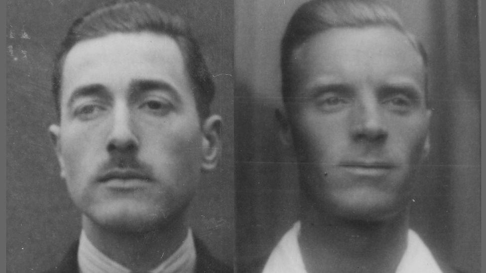 Frank Tuck and Kingston Bailey
