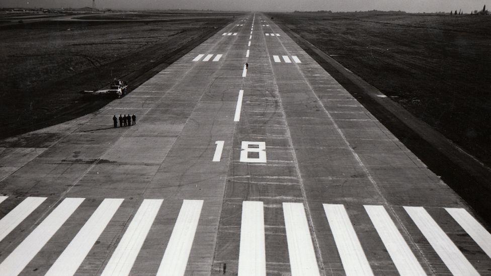 Yeşilköy Hava alanı inşaat aşamasındayken