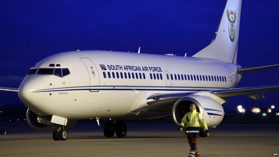 Inkwazi presidential jet
