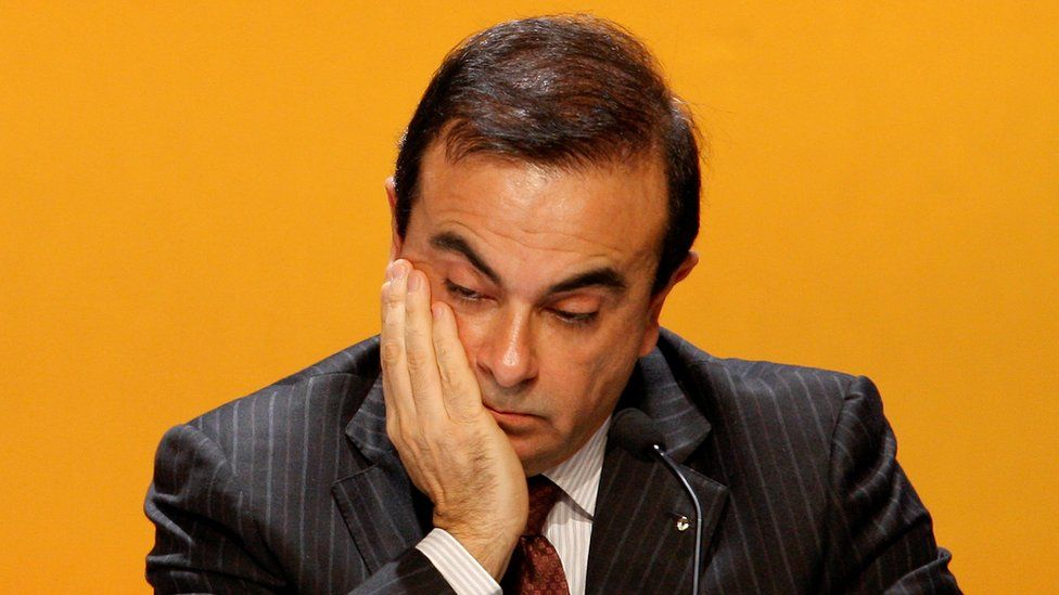 Carlos Ghosn, President and Chief Executive Officer of Renault, attends the company's annual shareholders meeting in La Defense business district, near Paris, April 29, 2008.