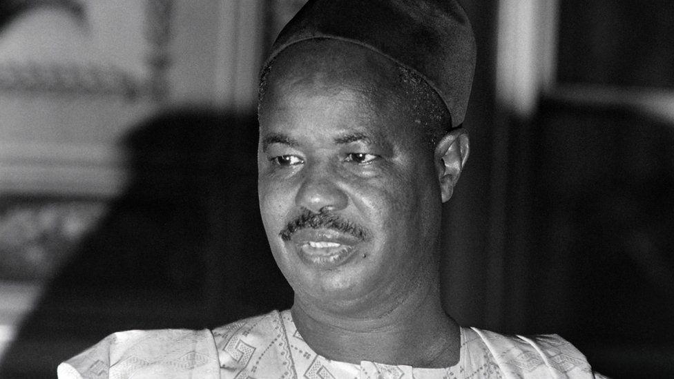 Cameroon's ex-president Ahmadou Ahidjo