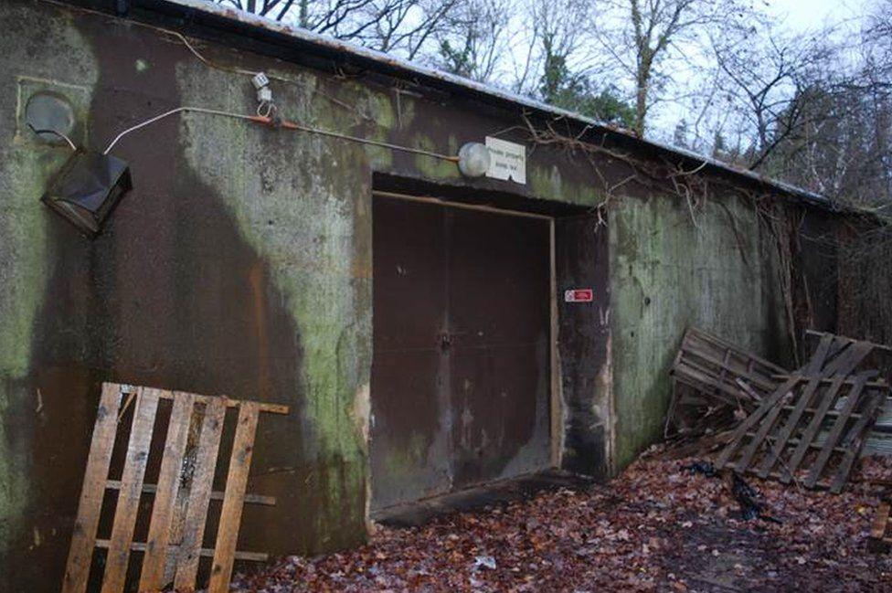 Air Raid Precaution Railway Control Centre