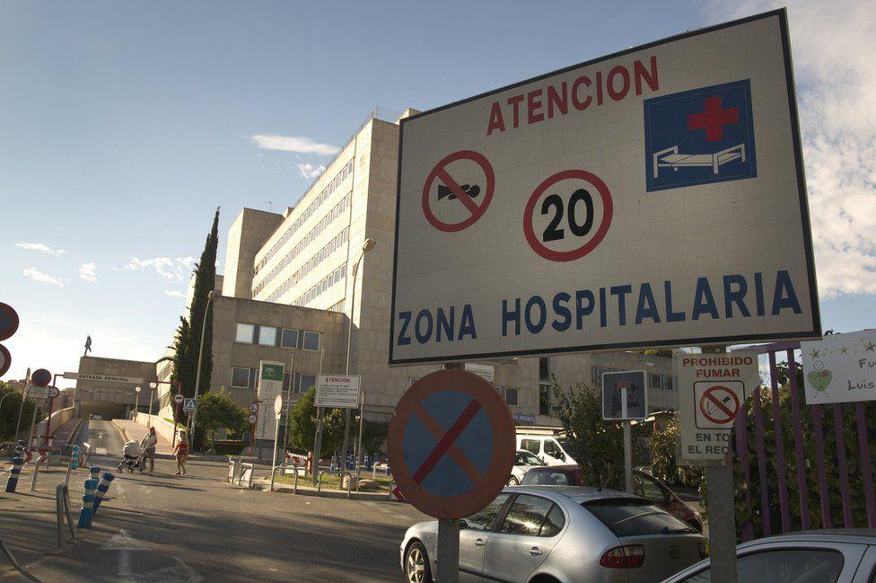 Hospital in Malaga - file pic