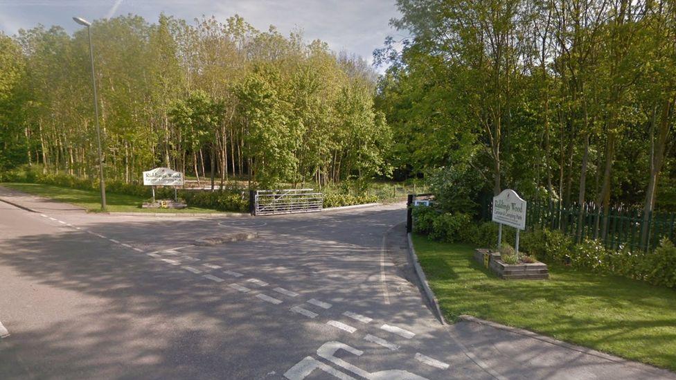 Riddings Wood Caravan Park near Alfreton