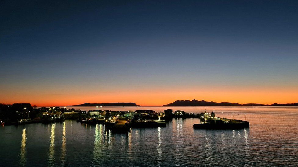 Mallaig sunset
