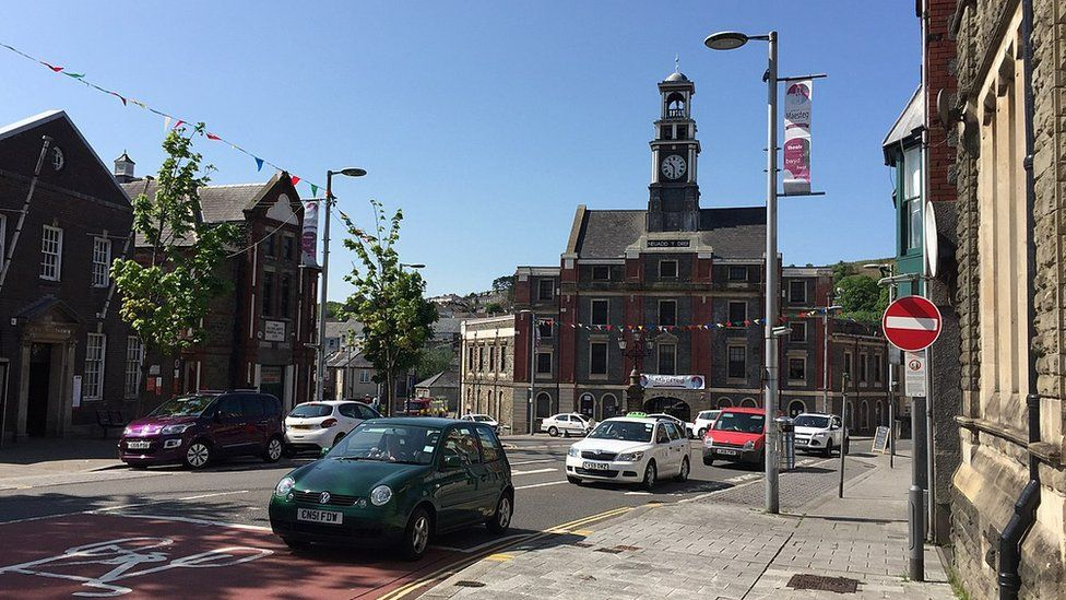 Maesteg town centre