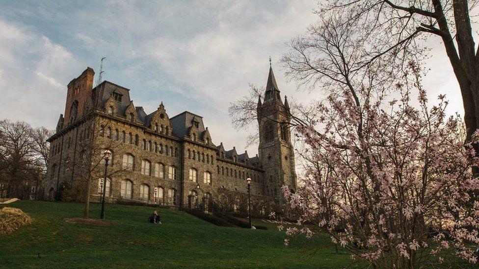 Lehigh university building