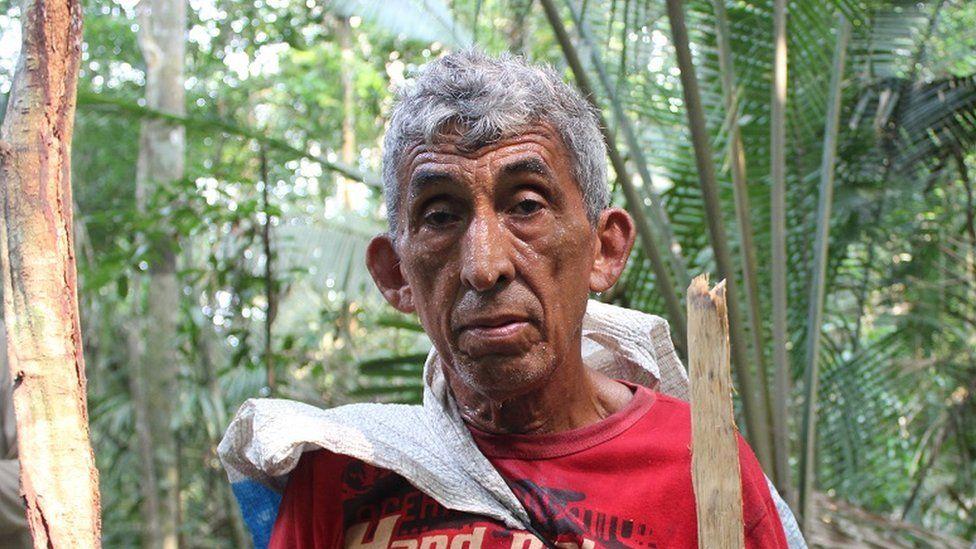 A picture of Francisco Firmino da Silva, also known as Chico Caititu
