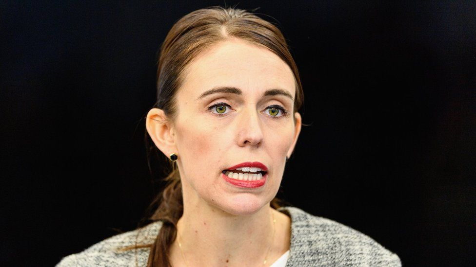 New Zealand Prime Minister Jacinda Ardern speaks to the media during a press conference at the Justice and Emergency Services precinct on March 28, 2019 in Christchurch, New Zealand.