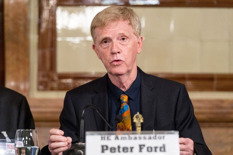 Peter Ford is a former UK ambassador to Syria