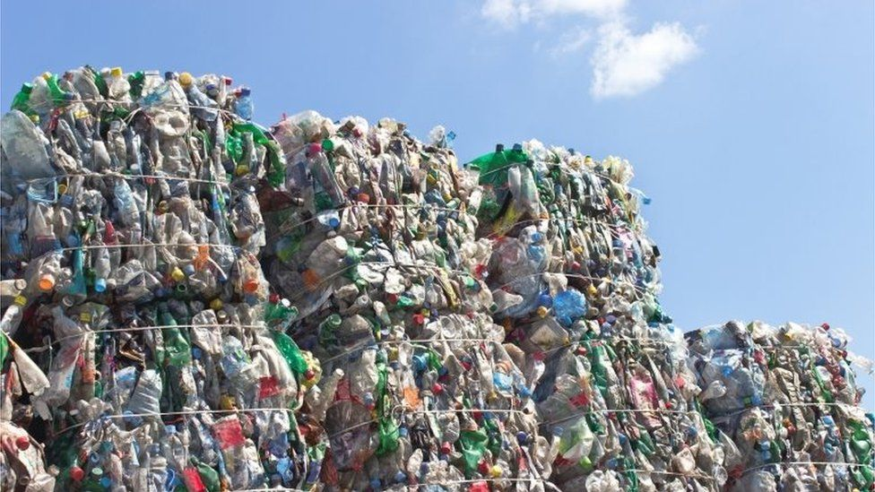 Recycled plastic