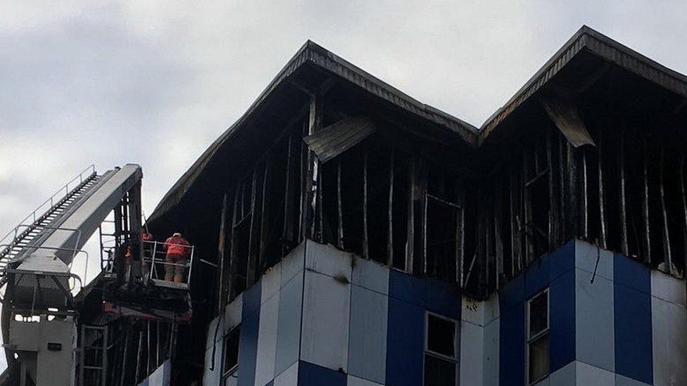 charred flats