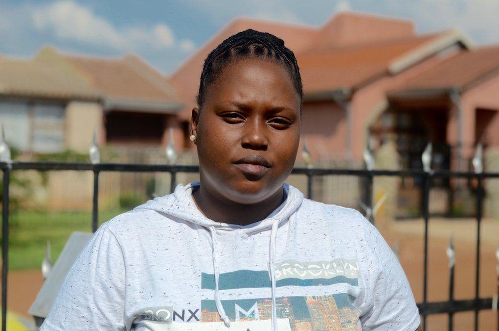 Lindiwe Nhlapo from Vaal LGBTI