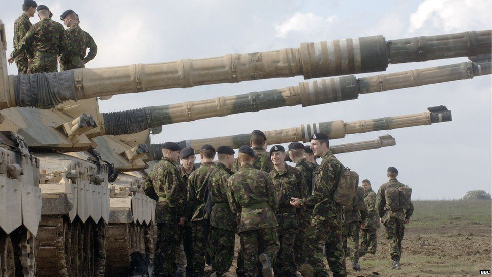 Army exercise, Salisbury Plain