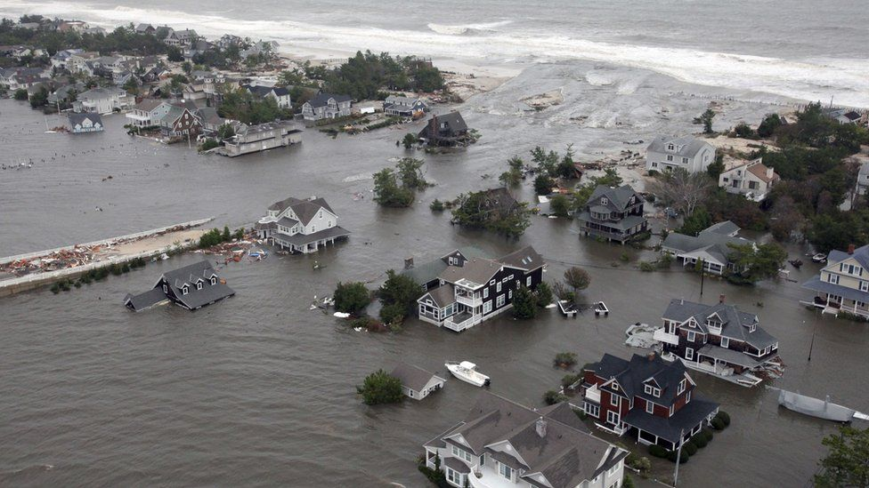 Damage to the New Jersey Coast from Hurricane Sandy