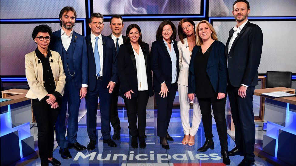 Paris mayoral election candidates attend debate on 10 March