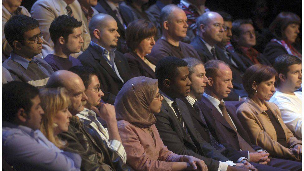 Election debate studio audience