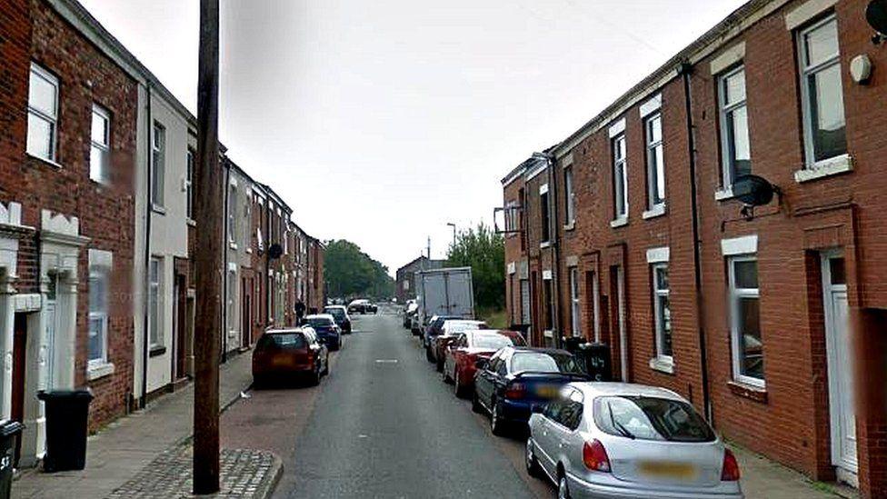 Geoffrey Street, Preston