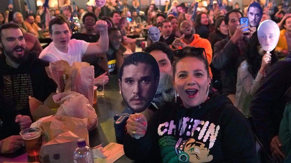 GoT fans in New York