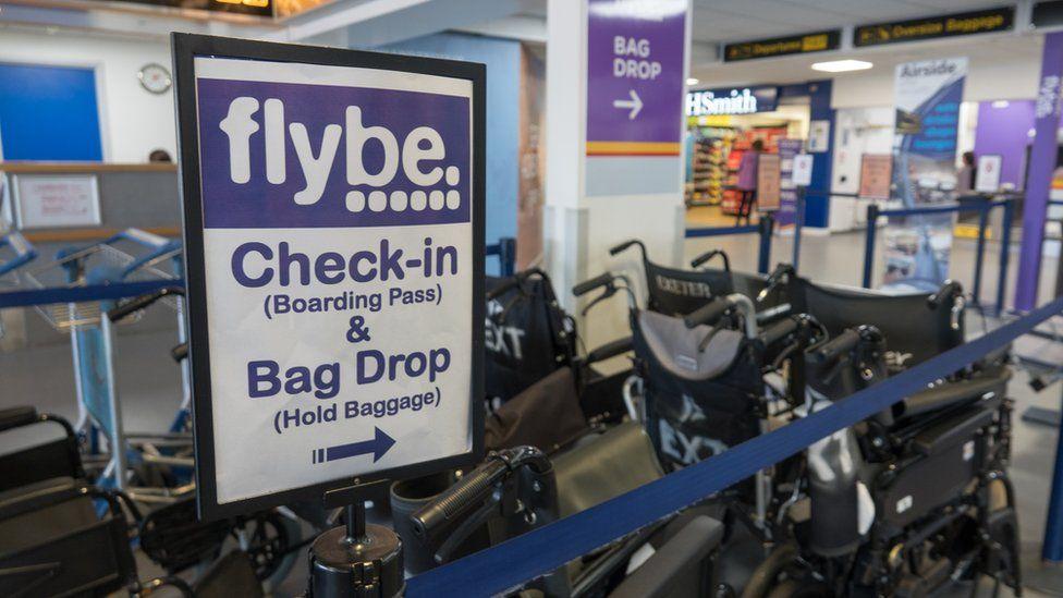 Flybe bag drop