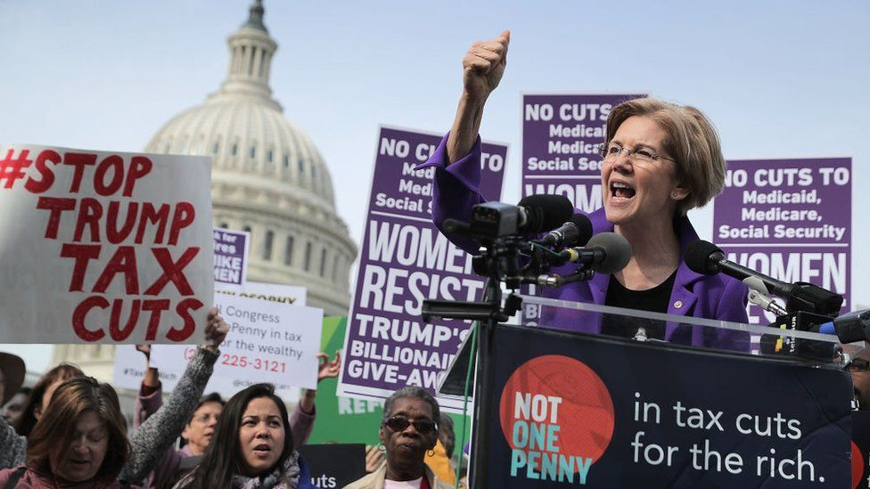 Mrs Warren, like every senate democrat, oppose the bill