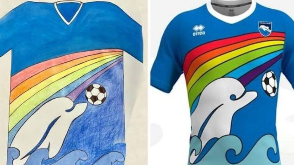 New Pescara shirt design - from official club tweet
