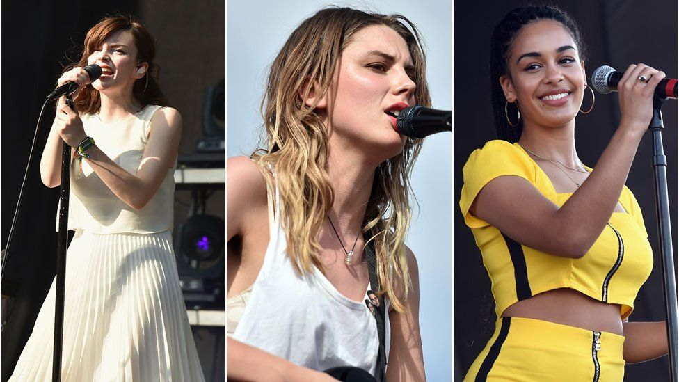 Chvrches, Wolf Alice and Jorja Smith