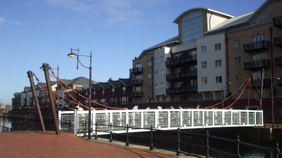 Adventurer's Quay Cardiff Bay