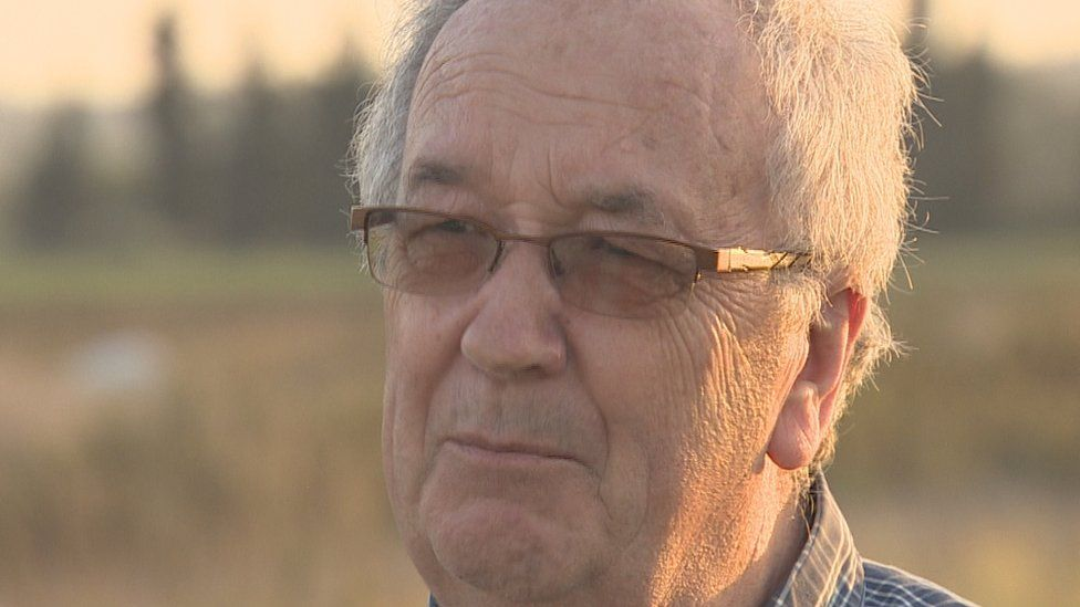 Walter Dunlop said his father-in-law had fought in Palestine
