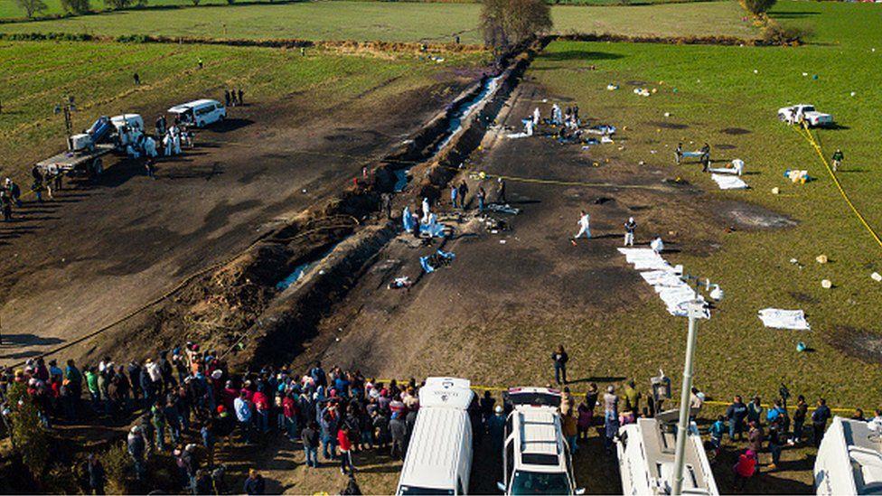 L'incendie d'un oléoduc fait 66 morts au Mexique