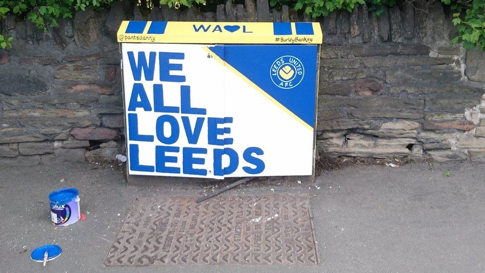 Leeds United junction box