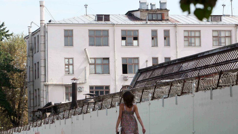 Lefortovo jail in Moscow is where FSB prisoners are held