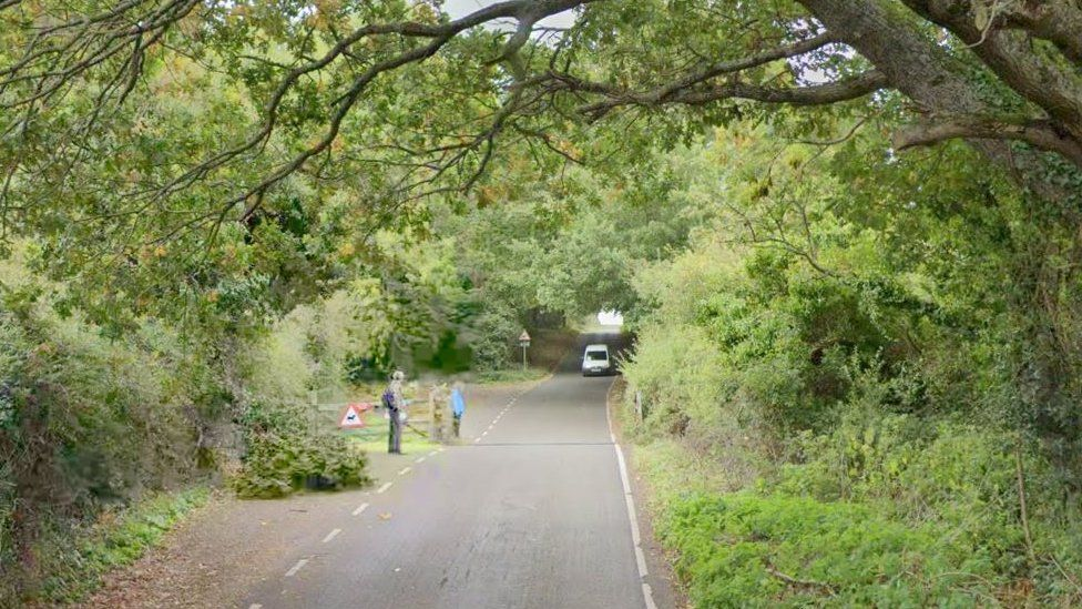 Hill Road, North Hill near Minehead