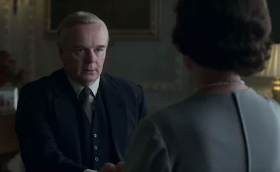 Harold Wilson (Jason Watkins) ends up getting on well with the Queen (Olivia Colman)