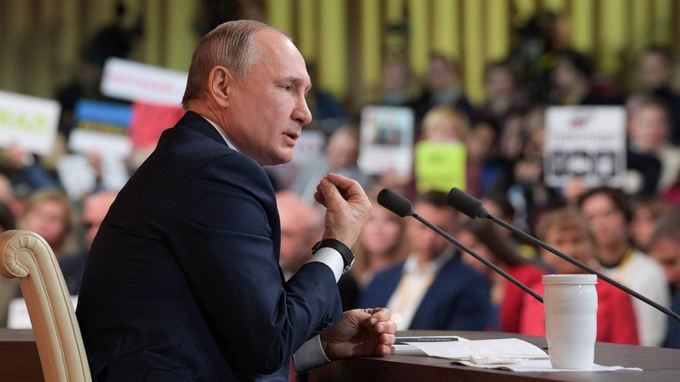 President Putin's 15th annual press conference lasted well over four hours