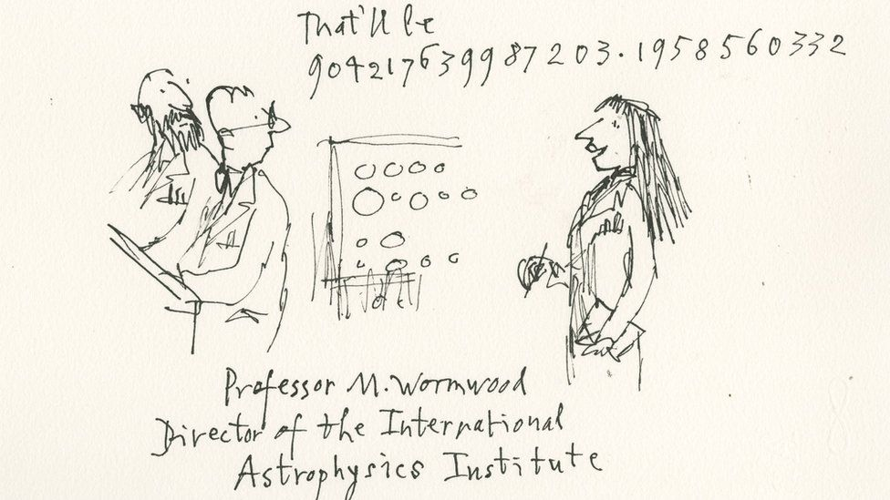 Matilda as a astrophysicist