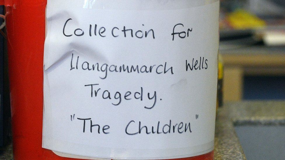 Collection buckets for the surviving children