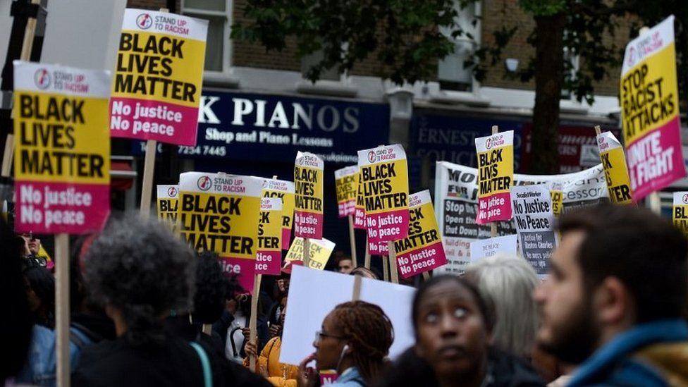 Campaigners at vigil