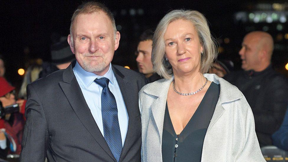 Robert Glenister and Celia de Wolff