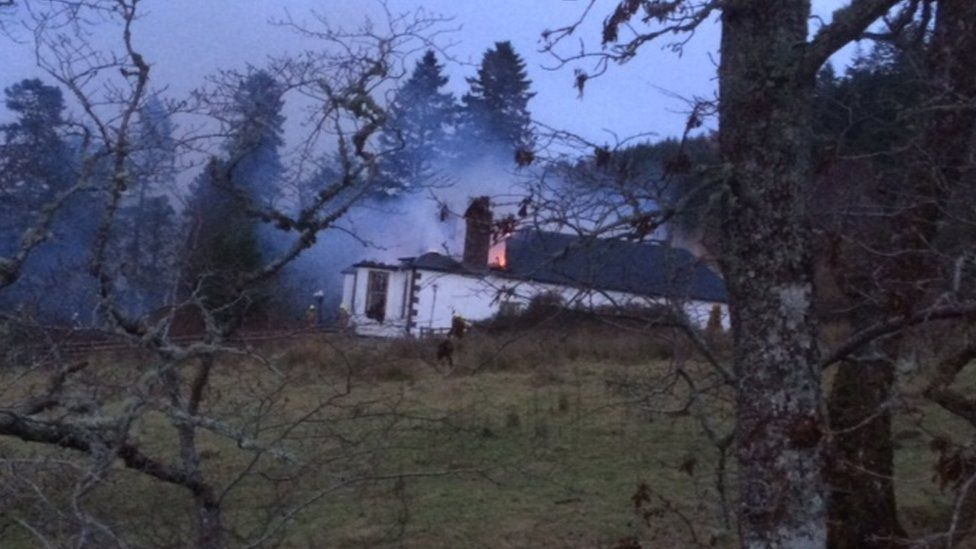 Fire at Boleskine House