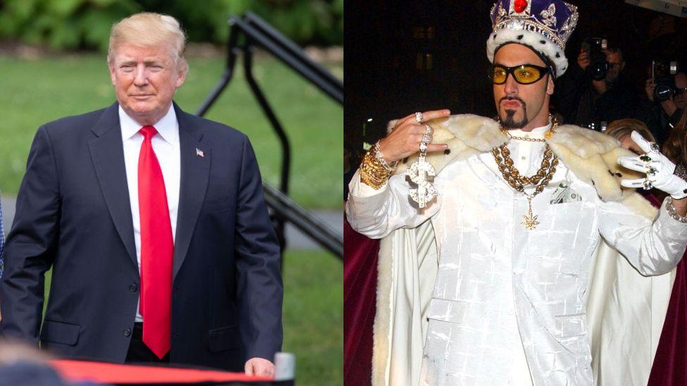 Trump and Ali G