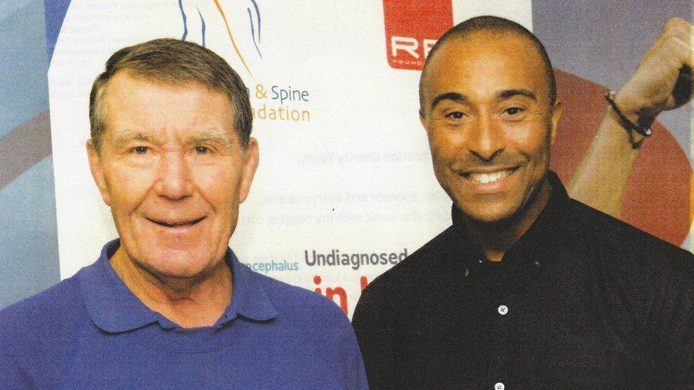 David Phillips and Colin Jackson
