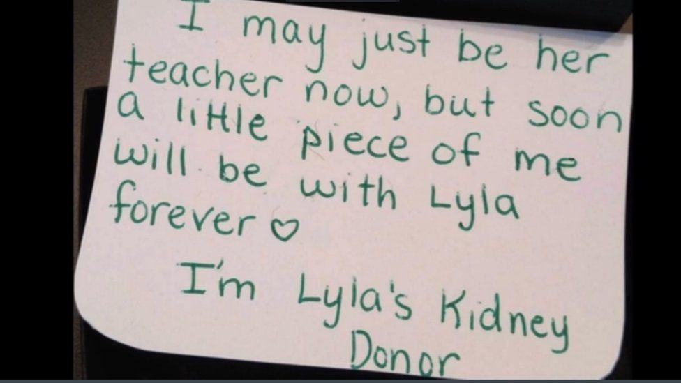 Note written by Beth to Lyla